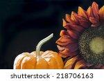 Autumn Themed Still Life With ...