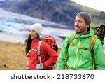 Hiking Adventure Travel People...