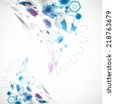 abstract business background... | Shutterstock .eps vector #218763679