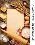 Постер, плакат: Rural vintage wooden kitchen
