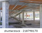 brick foundation and... | Shutterstock . vector #218798170