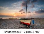 Sailing Boat Under A Beautiful...
