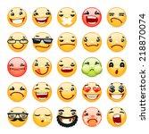 Cartoon Facial Expression Smil...