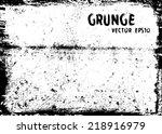 grunge texture   Shutterstock .eps vector #218916979
