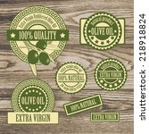 set collections of labels for... | Shutterstock .eps vector #218918824