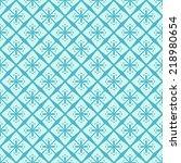 light blue simple seamless... | Shutterstock .eps vector #218980654