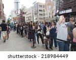 new york  ny   september 21 ... | Shutterstock . vector #218984449