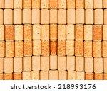 wine corks close up | Shutterstock . vector #218993176