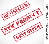 bestseller  new product  best... | Shutterstock .eps vector #219026680