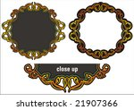 a set of 2 very clean and... | Shutterstock .eps vector #21907366