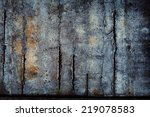 Concrete Wall With Severe...