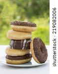 Various Sweet Donuts