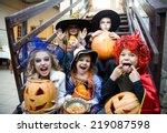 Children Curve Faces In Fairy...