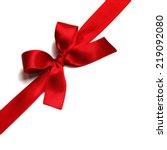 Shiny Red Satin Ribbon...