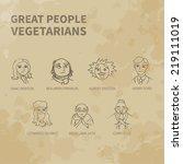 Great People   Vegetarians....