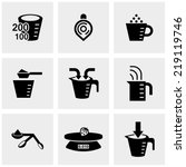Measuring Cup Vector Icons Set...