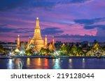 Wat Arun Along Chao Phraya...