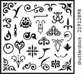 ornamental design elements ... | Shutterstock .eps vector #21912898