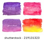 Wet Watercolor Ombre...
