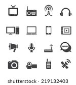 communication icon | Shutterstock .eps vector #219132403