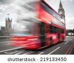 big ben with the houses of... | Shutterstock . vector #219133450