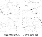 set of abstract grunge black... | Shutterstock .eps vector #219152143