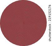 vector   hypnosis spiral design ... | Shutterstock .eps vector #219152176
