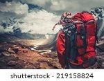 Hiking In Himalaya Mountains....