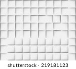 abstract gray background with... | Shutterstock .eps vector #219181123