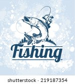 fishing vector labels