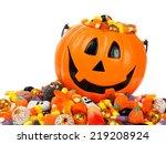 Halloween Jack O Lantern Pail...