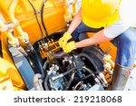 Asian Motor Mechanic Working O...