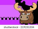reindeer ball cute cartoon...