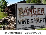 Old  Mining Sign