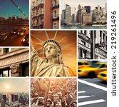 Vintage Manhattan New York...