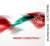 red color christmas blurred... | Shutterstock . vector #219270940