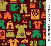 clothing and accessories icons... | Shutterstock .eps vector #219274570