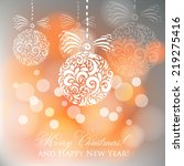 vector illustration abstract... | Shutterstock .eps vector #219275416