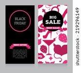 banner template for black... | Shutterstock .eps vector #219296149