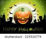 illustration on a happy... | Shutterstock . vector #219310774