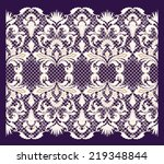 lace background | Shutterstock .eps vector #219348844