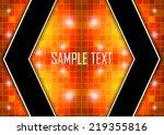 orange abstract background   Shutterstock .eps vector #219355816