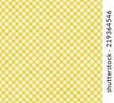 Bright Yellow  Gingham Pattern...