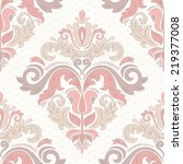 Oriental  Pattern With Damask ...