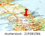 close up of  united kingdom ... | Shutterstock . vector #219381586