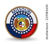 missouri seal | Shutterstock .eps vector #219381634