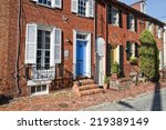 Annapolis Maryland Old Houses...
