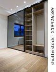 wardrobe furniture in bedroom...   Shutterstock . vector #219426589