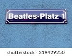 Постер, плакат: Hamburg Germany Beatles