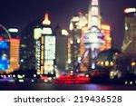 Bokeh  Shanghai At Night  China